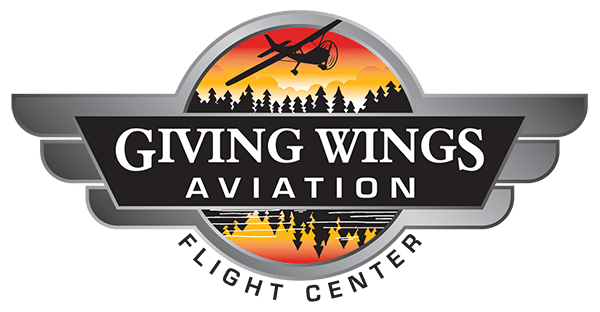 Giving Wings Aviation Flight Center logo