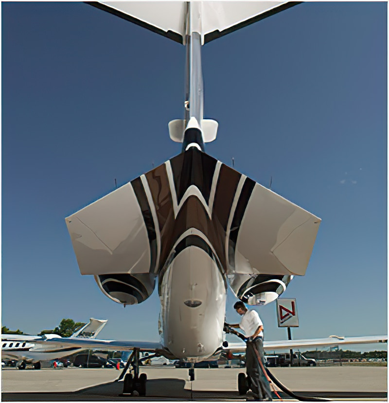 AVFLIGHT airplane refueling