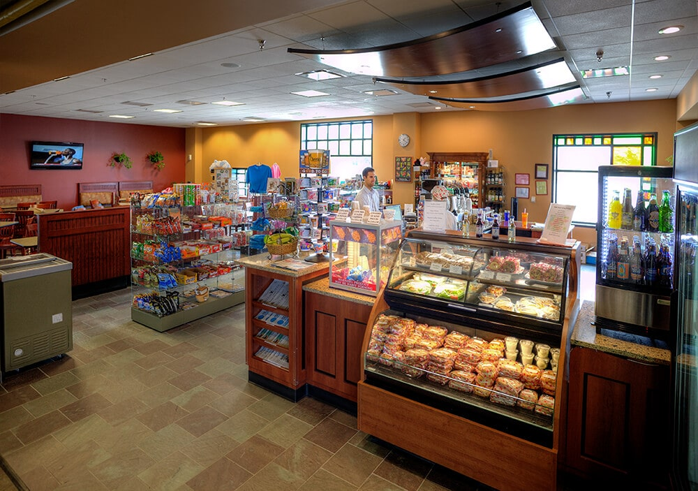 Deli and coffee shop at Cherry Capital Airport
