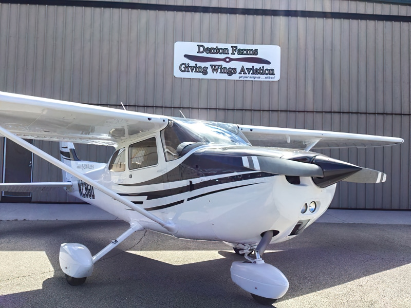 Giving Wings Aviation airplane