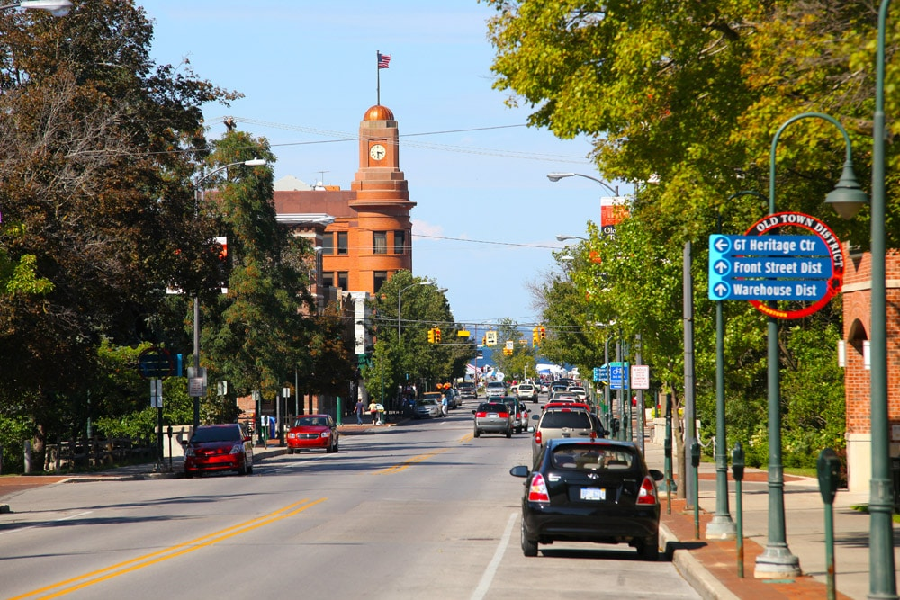 Downtown Traverse City, Michigan